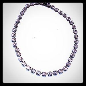 Gorgeous rhinestone necklace.